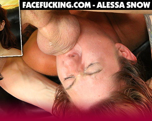 Alessa Snow Destroyed On FaceFucking.com